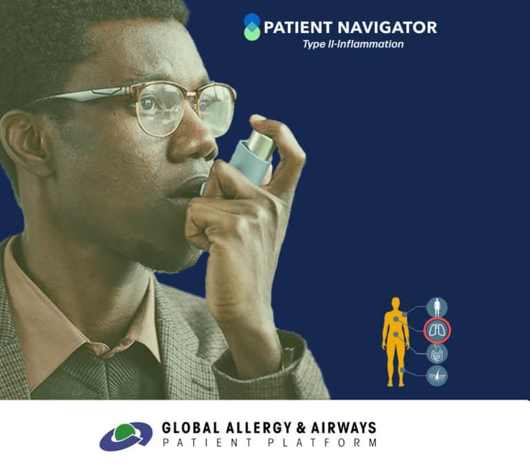 Visita el Navegador de pacientescon asma por inflamacion tipo 2